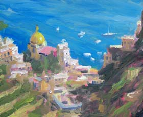 Italy Fine Art Giclee Prints by Gordon Haas