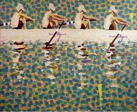 Rowing and Sculling Fine Art Giclee Prints by Gordon Haas