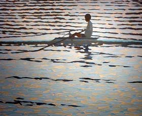 ROWING SILOUETTE - click to view larger image...